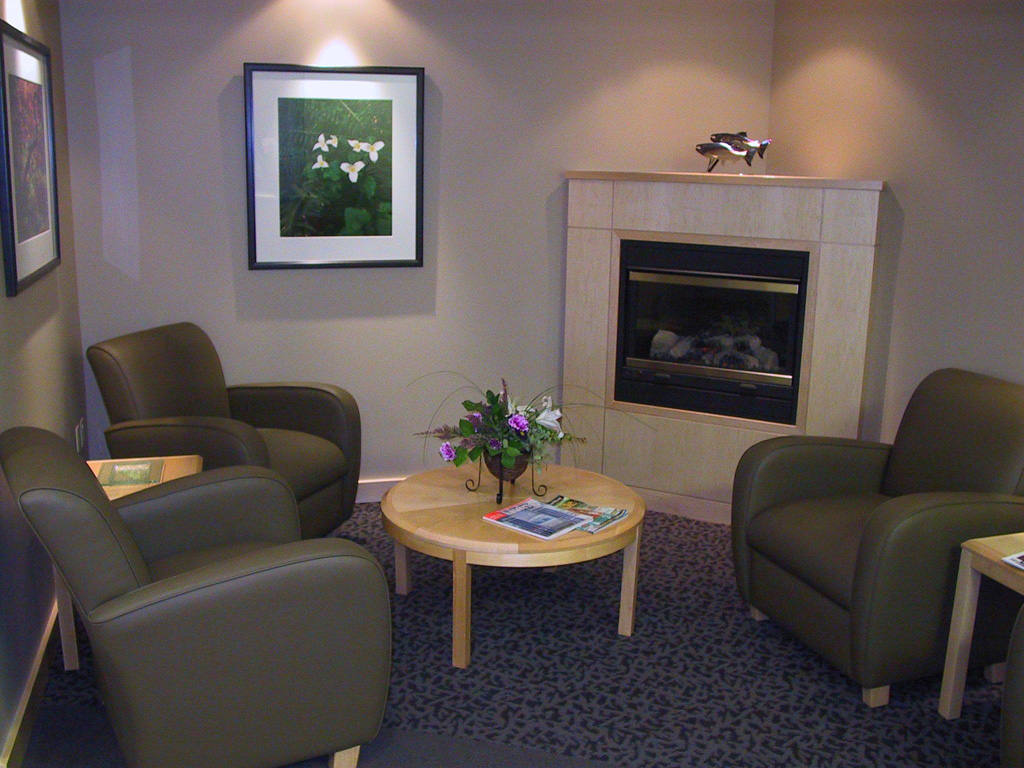 Waiting Area at Oregon Periodontics, P.C.